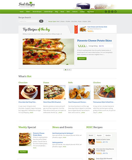 food-recipes-theme 13 Best Food Themes for Sharing Recipes