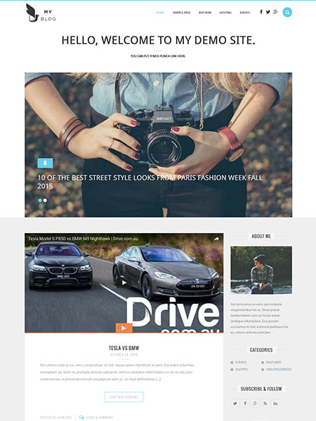 myblog 20+ Best Personal WordPress Blog Themes For Corporate, Fashion, Travel, And Personal Blogs