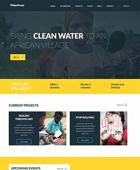 philanthropy-wordpress-theme 12 Best Non-Profit & Charity WordPress Themes