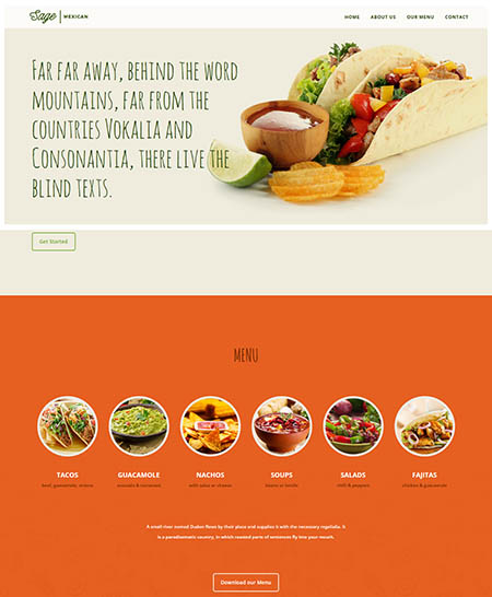 sage-wordpress-theme 13 Best Food Themes for Sharing Recipes