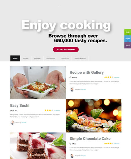 talisa-wordpress-theme 13 Best Food Themes for Sharing Recipes