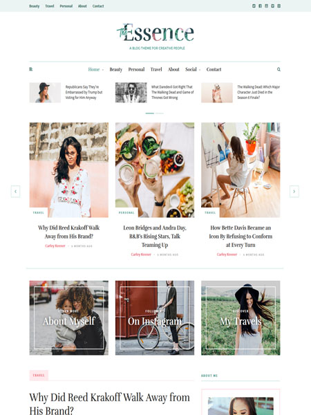 the-essence 20 Adventurous WordPress Travel Blog Themes for 2017