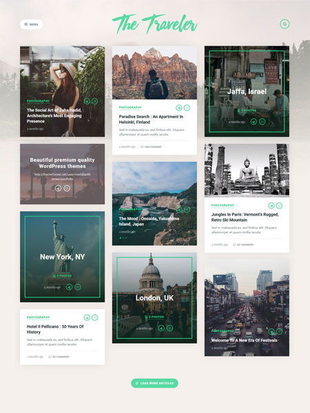 the-traveler-theme 18 Best Multi Purpose WordPress Themes for 2017