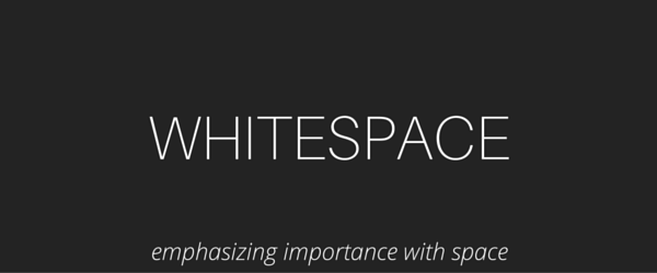 typography-whitespace Visual Hierarchy: Improving Your Designs with Typographic Hierarchy