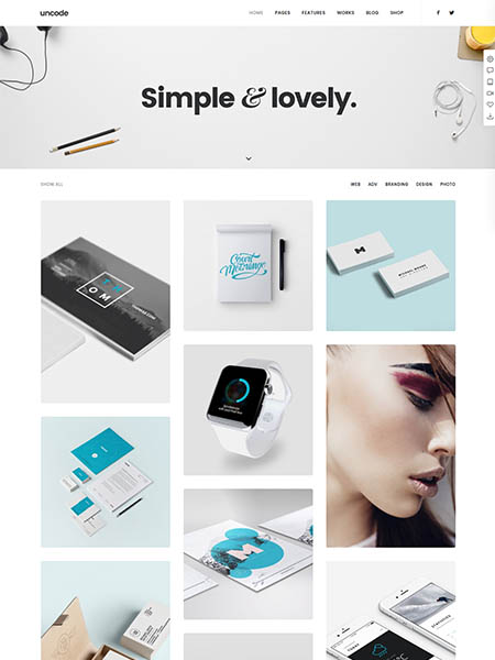 undesgn 11+ Best WordPress Portfolio Themes to Showcase Your Work