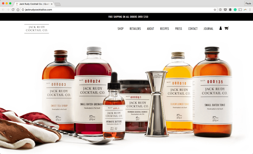Jack-Rudy-Cocktail-Co.-Quality-Bar-Goods-2016-09-26-14-56-25 16 Beautiful Websites Running on WooCommerce