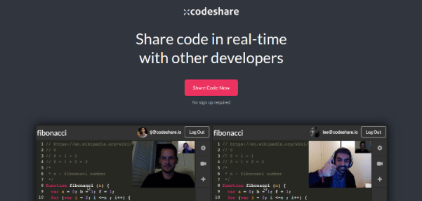 codeshare 15 Useful Code Sharing Websites for Web Developers