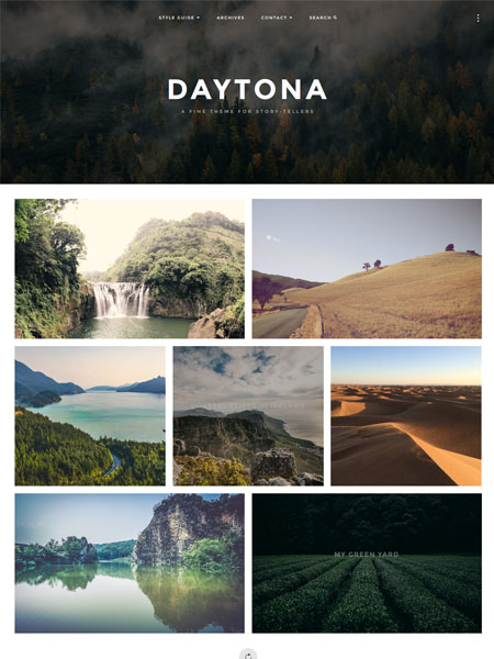 daytona-theme 12 Best Marketing WordPress Themes for Bloggers & Small Business Owners