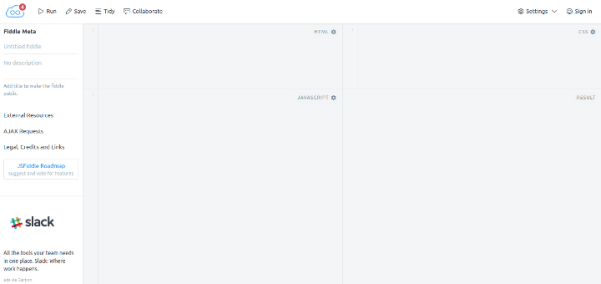 jsfiddle 15 Useful Code Sharing Websites for Web Developers