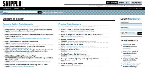 snipplr 15 Useful Code Sharing Websites for Web Developers