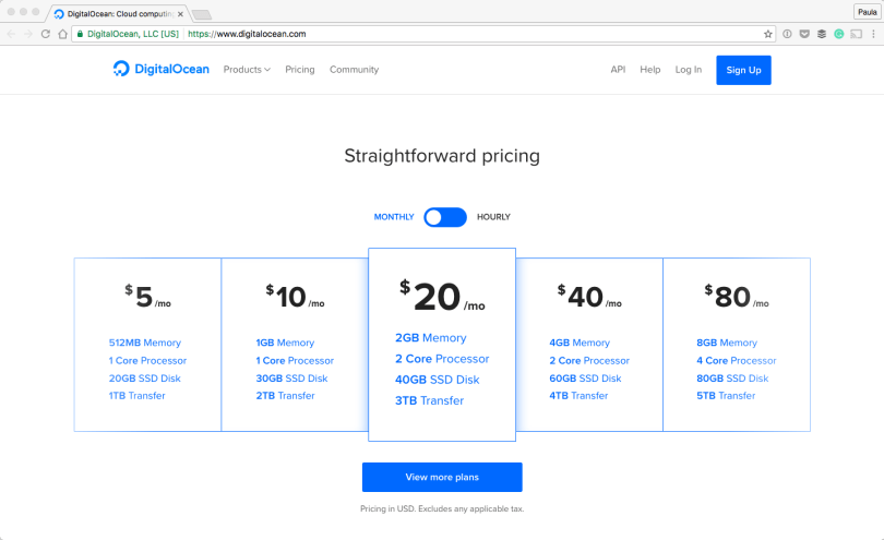 DigitalOcean-Cloud-computing-designed-for-developers-2016-10-01-19-54-26 How to Design with a Monochromatic Color Scheme