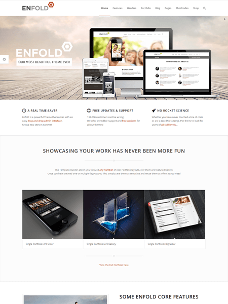 Enfold 30 Newsworthy Magazine WordPress Themes for Blogs & Magazines