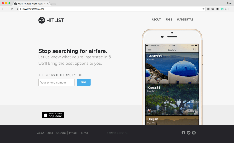 Hitlist-Cheap-Flight-Deals-Airline-Tickets-and-Last-Minute-Flights-2016-10-02-02-51-38 25 Useful Resources for working Digital Nomads