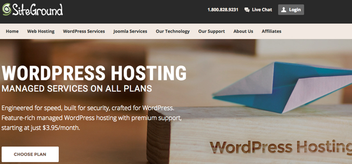 Siteground-hosting How to Start a WordPress Blog – The Definitive Guide