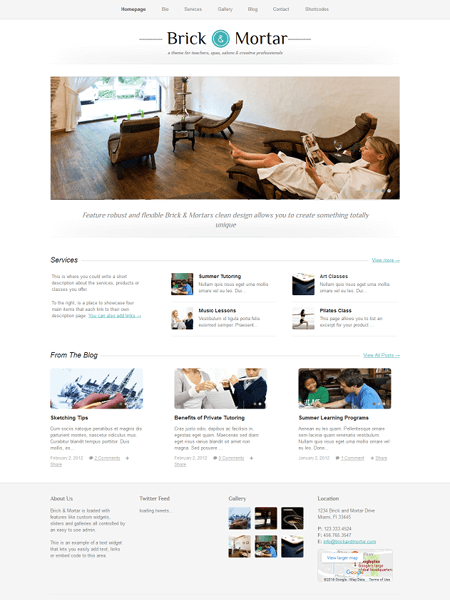 brick-and-mortar 22 of the best Yoga & Fitness WordPress Themes for 2017