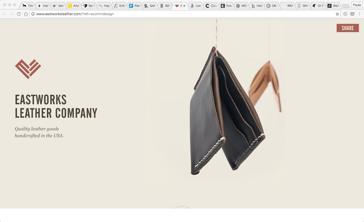 Eastworks-Leather-Company-2016-10-28-10-49-47 17 Rock Solid Website Layout Examples for 2017