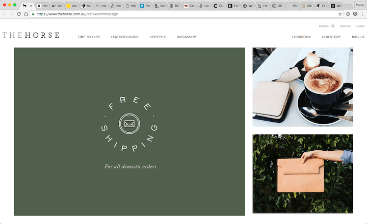 Time-Tellers-Leather-Goods-Lifestyle-The-Horse-2016-10-28-10-44-16 17 Rock Solid Website Layout Examples for 2017