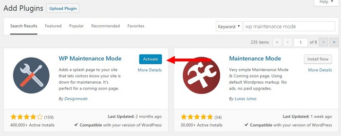 install-plugin-step-2 How To Make A Website with WordPress – The Ultimate Guide
