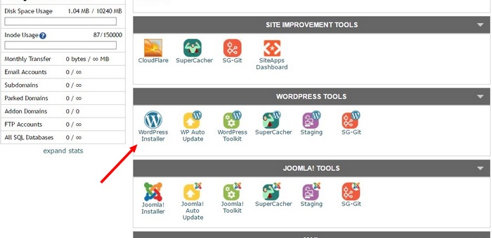 install-wordpress-step-2 How To Make A Website with WordPress – The Ultimate Guide