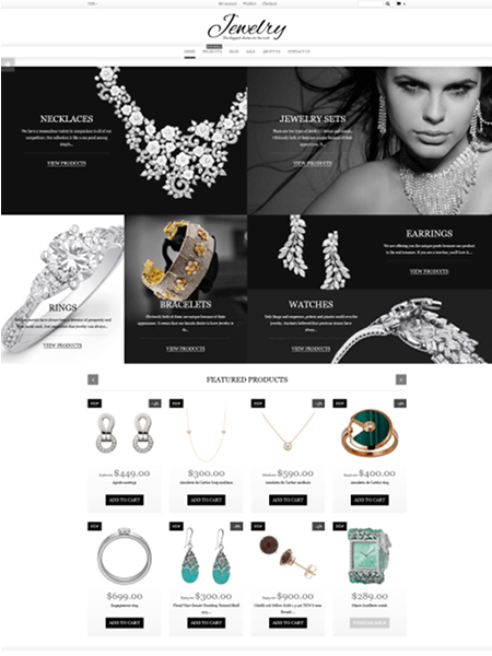 jewelry 15 Top Shopify Themes for Your Online Store