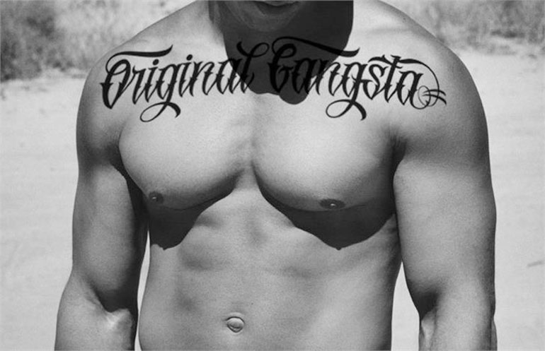original-gangsta 25 Free Tattoo Fonts with Style
