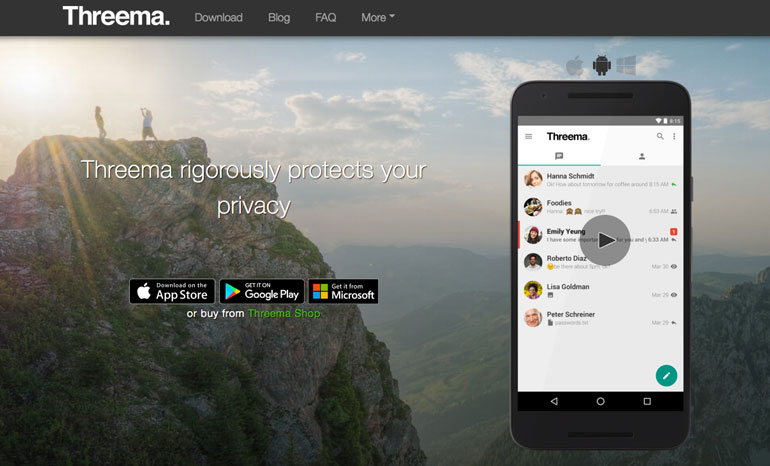 threema 9 Messaging Apps for Alternative Ways to Chat