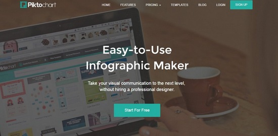 pictochart 8 Best Web-Based Photo Editors For Online Marketers