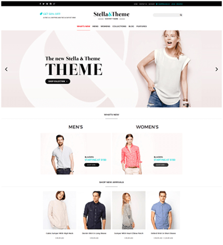 stella-theme 15 Top Shopify Themes for Your Online Store