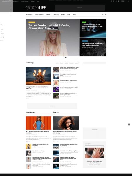 GoodLife 16+ Best AdSense Optimized WordPress Themes