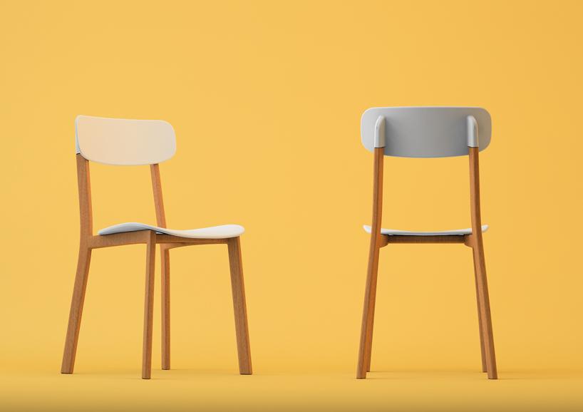 Mr Smith Studio Cream Chair For Calligaris