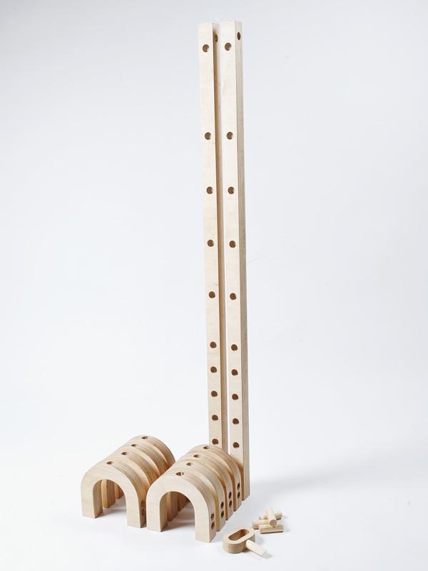 sabine marcelis 'loops' modular kids toy