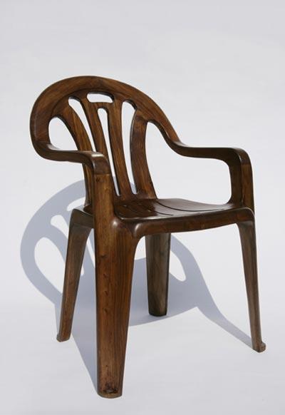 Plastic Wood Chair * Maarten Baas