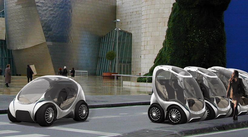 Hiriko Collapsible Electric City Car