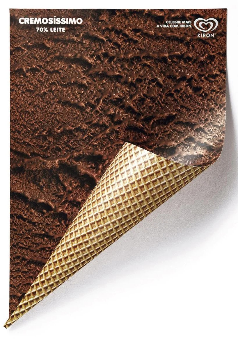 renata el dib: ice cream posters for kibon