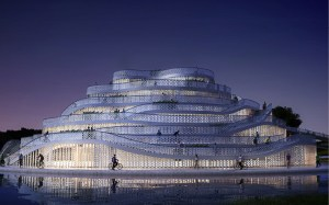 JDS architects: chongming bicycle park