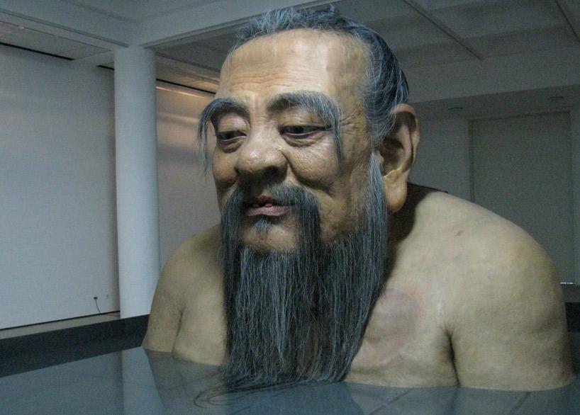 zhang huan: q confucius at rockbund museum