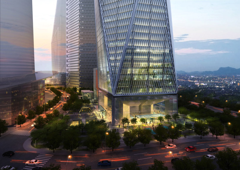 Som Diagonal Tower Yongsan International Business District