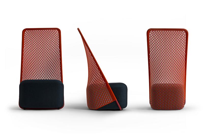 benjamin hubert chair cradle moroso designboom