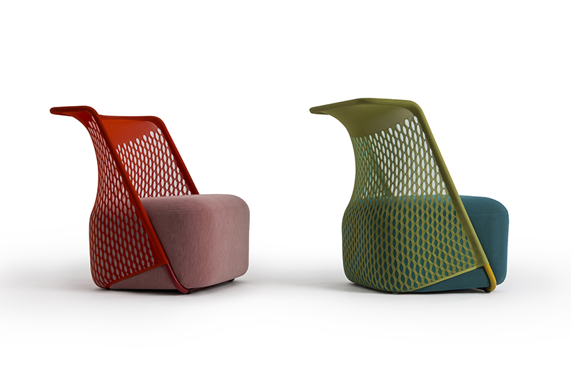 benjamin hubert chair cradle moroso designboom