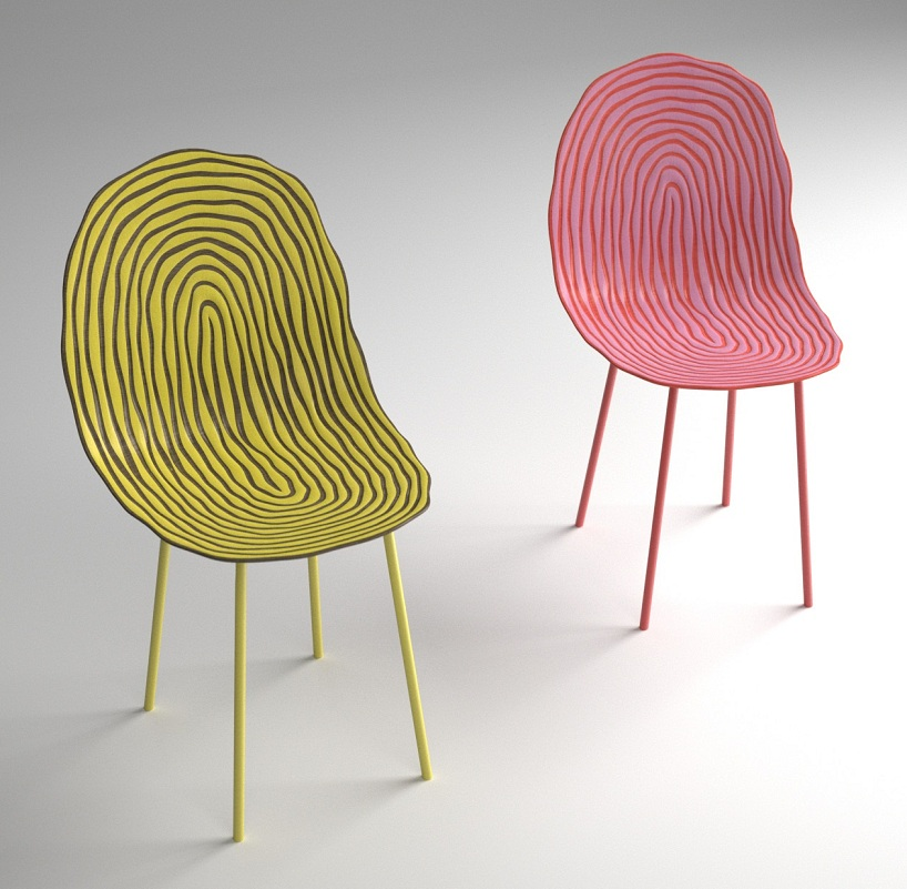 tropical chair by jens boldt