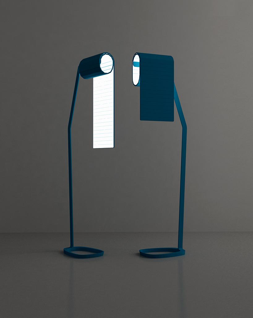 Bina Baitels OLED Recto Verso Lamp Collection At Milan