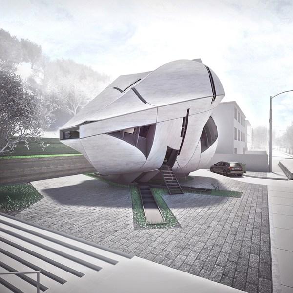 preliminary research office creates sculptural dalian ...