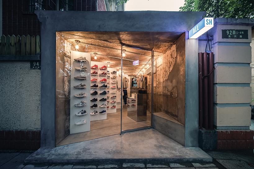 Linehouse Designs Minimalist ALL SH Storefront In Shanghai