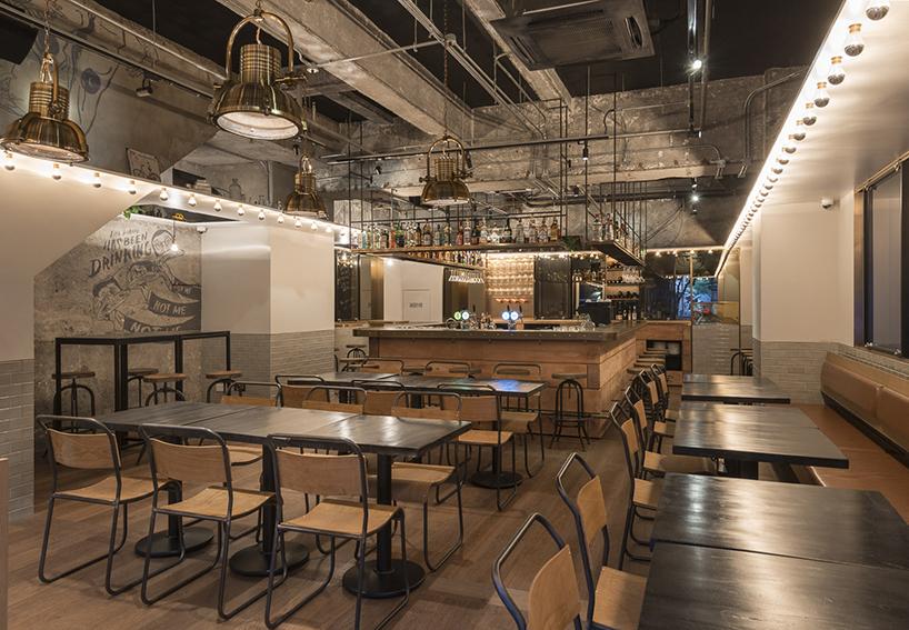 Linehouse Designs Tribeca Gastro Pub In Shanghai