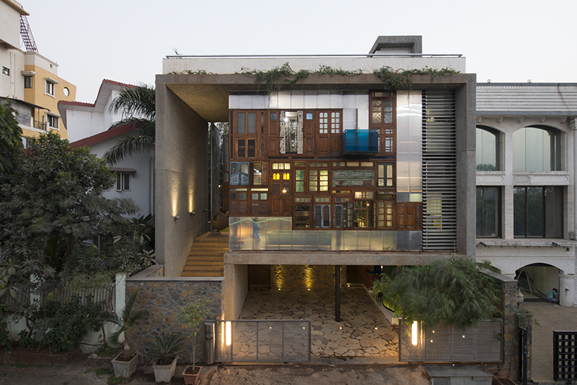 SPSARCHITECTS Adds Recycled Doors And Windows To Mumbai