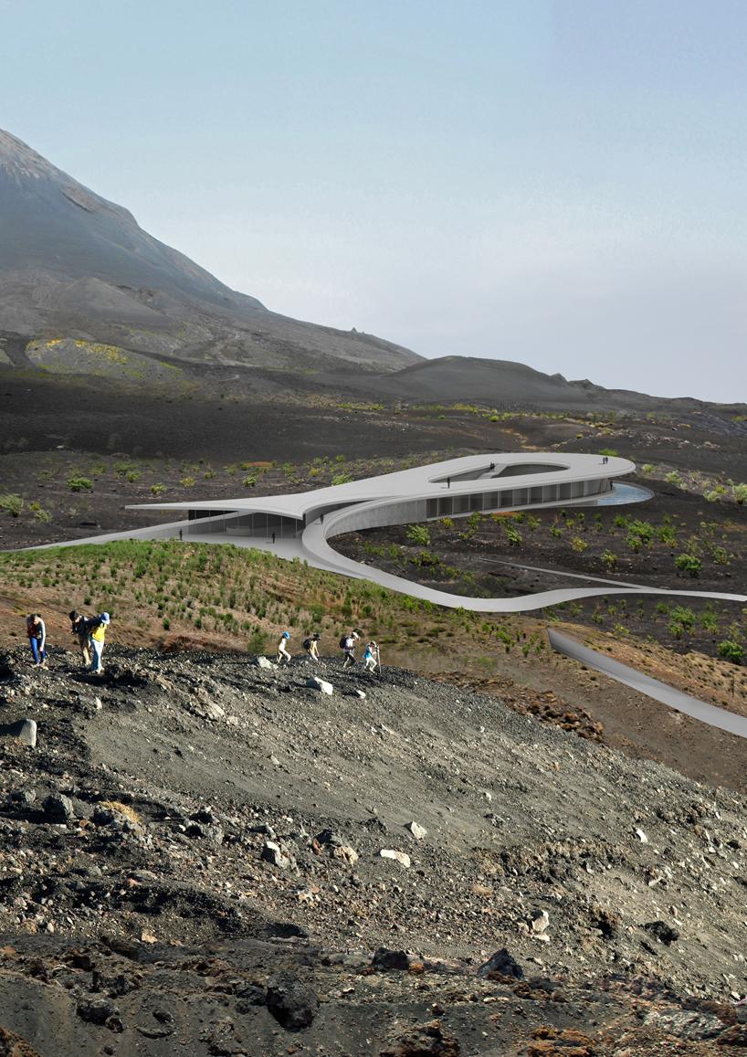adrian kasperski fogo island cape verde development designboom