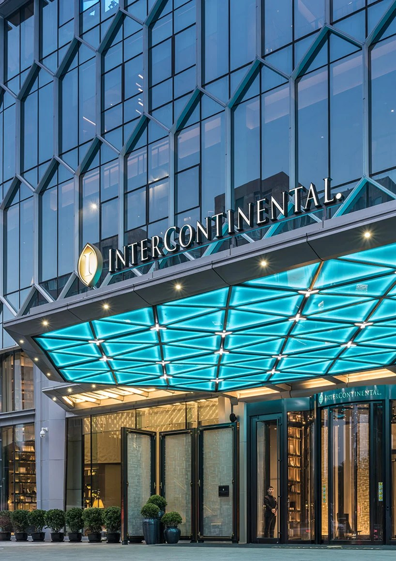 New Yuppies Intercontinental Beijing Interiors By CCD