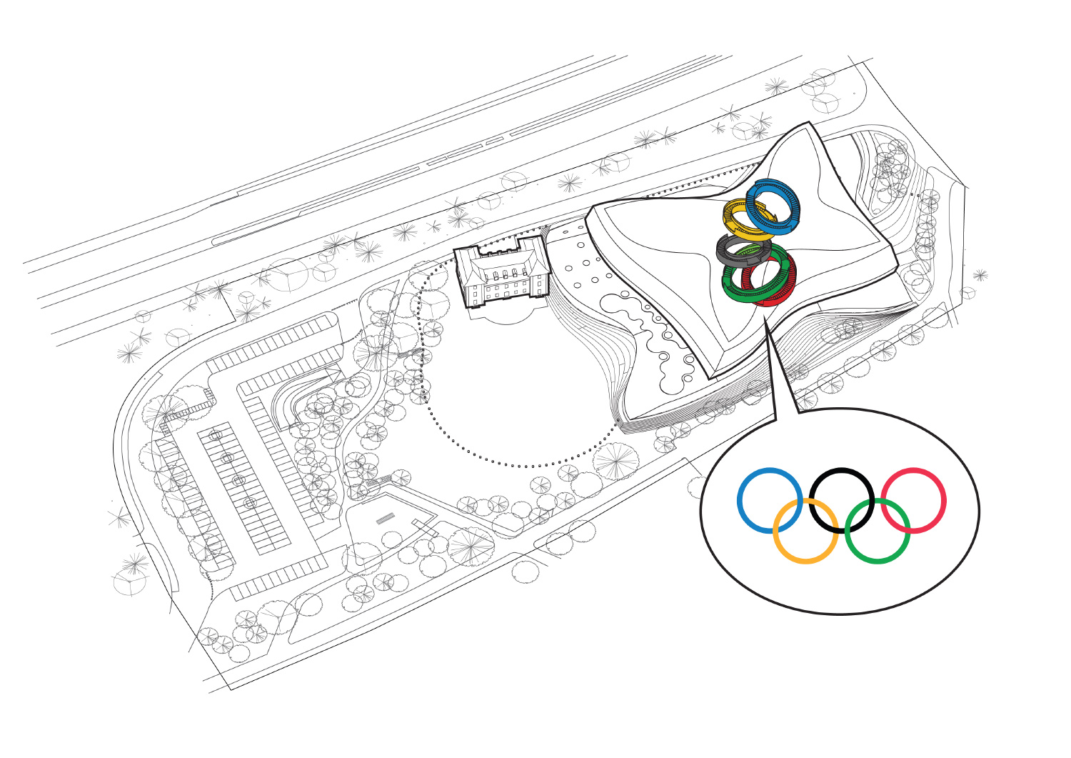 Olympic House By 3xn Serves As The Ioc S New Headquarters