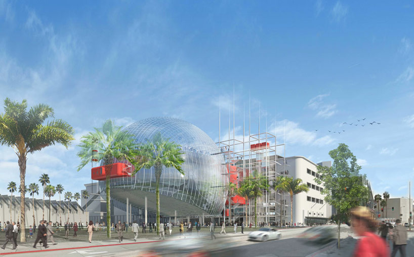 renzo piano + zoltan pali: academy museum of motion pictures update