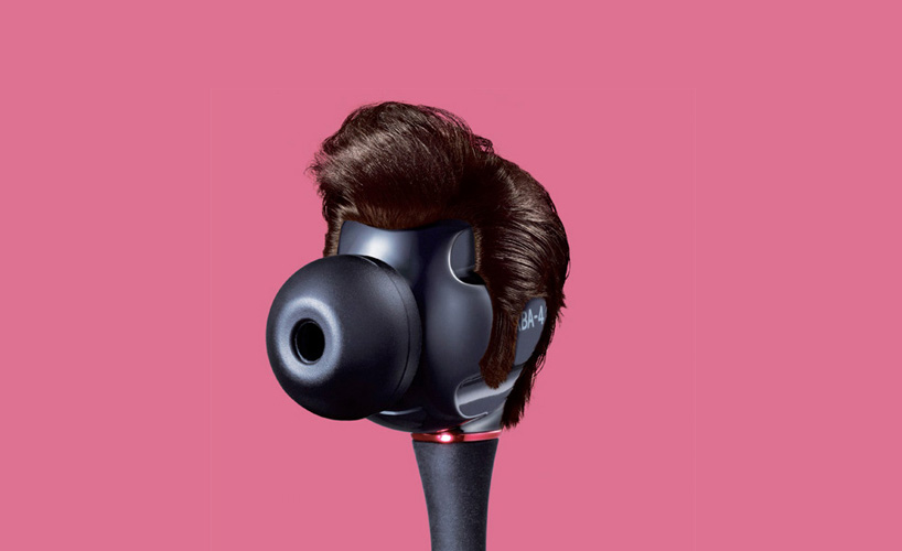 music icons as earbuds by welcomm for sony